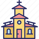 cathedral, chapel, church, religious building icon