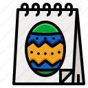 calendar, date, day, easter, month icon