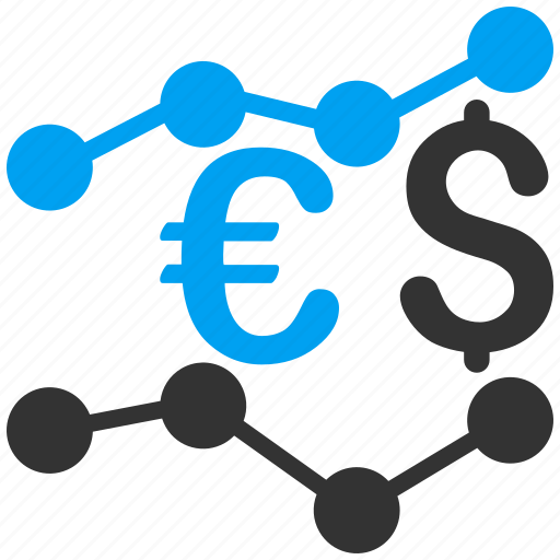 business, currency, finance, financial, graph, market trends, money icon