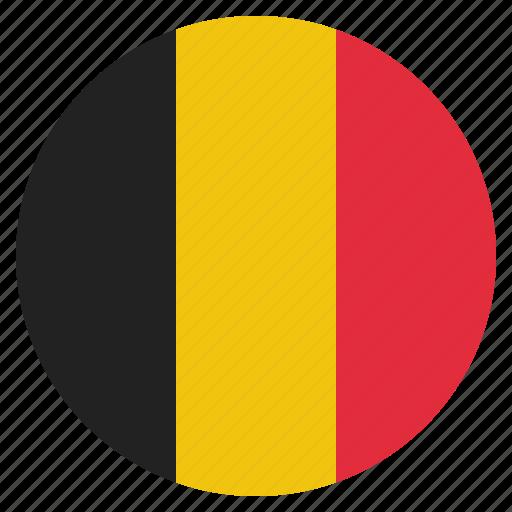 belgian, belgium, country, european, flag, national icon