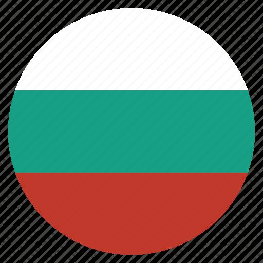 bulgaria, bulgarian, country, european, flag, national icon