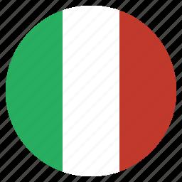 country, european, flag, italian, italy, national icon