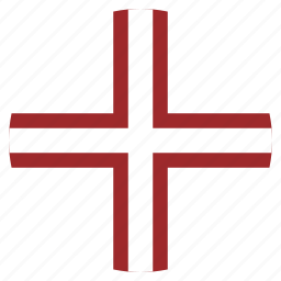 country, flag, latvia, latvian, national, variant icon