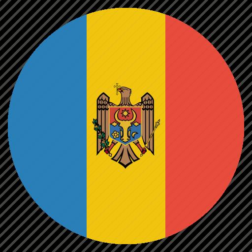 country, european, flag, moldova, moldovan, national icon