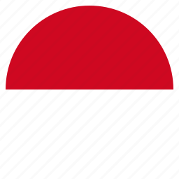 country, european, flag, monaco, national icon