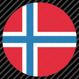 country, european, flag, national, norway, norwegian icon
