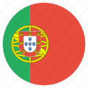 country, flag, portugese, portugal, european