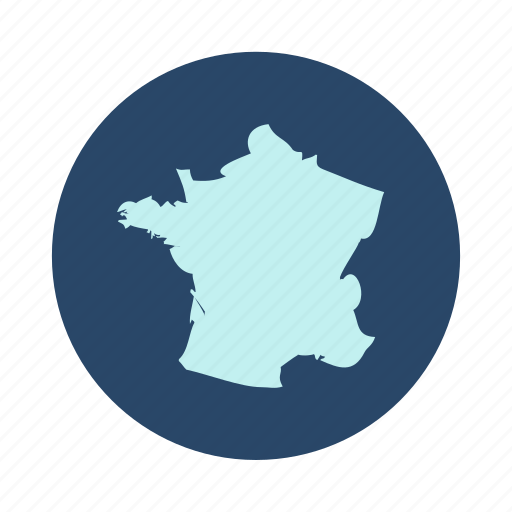Country, europe, france, map icon - Download on Iconfinder