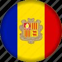 andorra, europe, flag