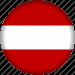 austria, europe, flag icon