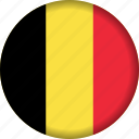 belgium, europe, flag icon