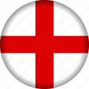 england, europe, flag icon