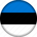 estonia, europe, flag icon