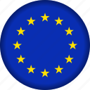 europe, european, flag icon