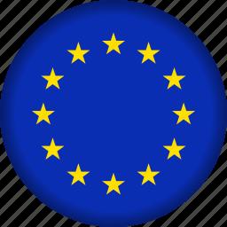 europe, european, flag icon