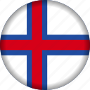europe, faroe, flag icon