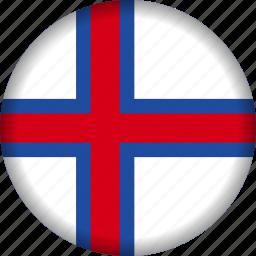 europe, faroe, flag icon