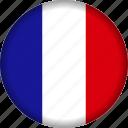europe, flag, france icon