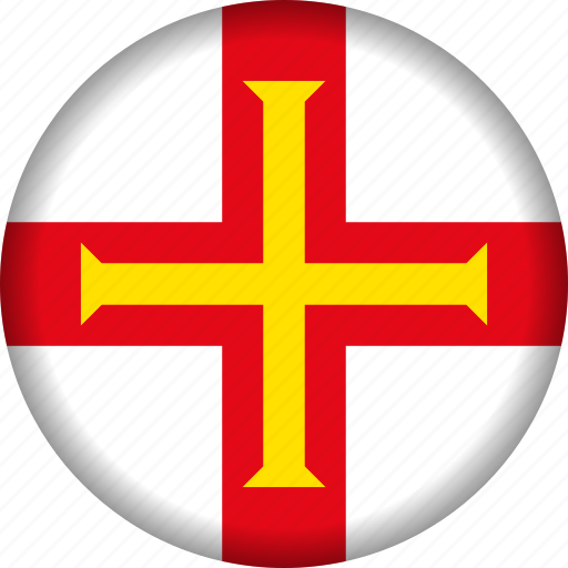 europe, flag, guernsey icon