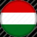 europe, hungary, flag