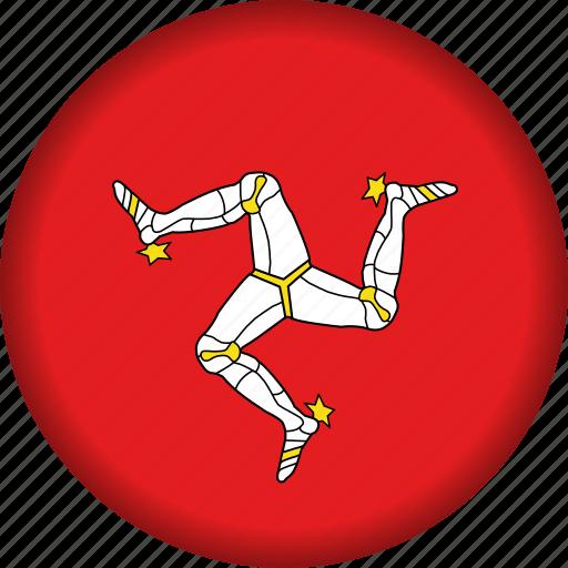 europe, flag, isleofman icon