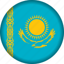 europe, flag, kazakhstan icon