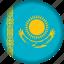 europe, flag, kazakhstan icon