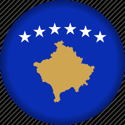 europe, flag, kosovo icon