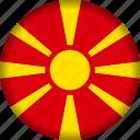 europe, flag, macedonia