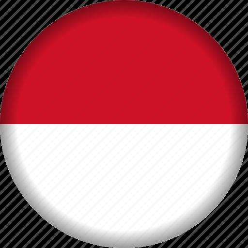europe, flag, monaco icon