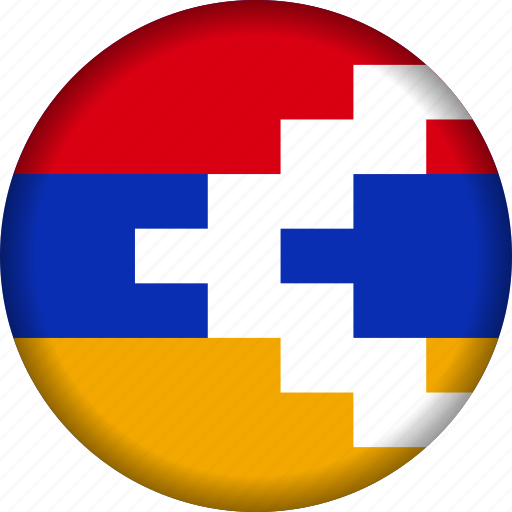 europe, flag, nagorno icon