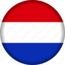 europe, flag, netherlands icon