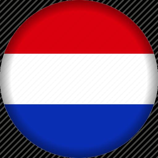europe, flag, netherlands icon
