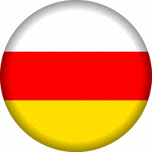 europe, flag, ossetia icon