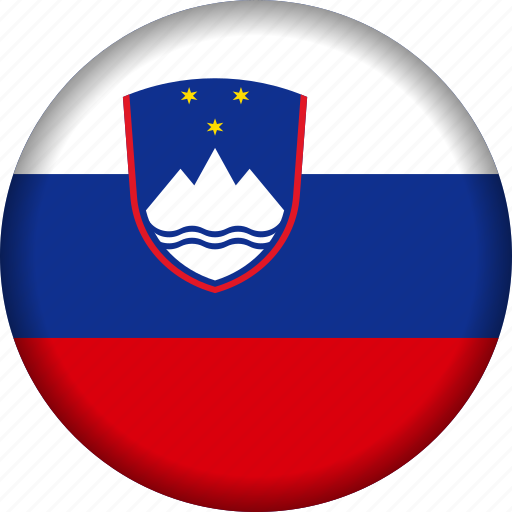 europe, flag, slovenia icon