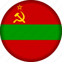europe, flag, transnistria icon