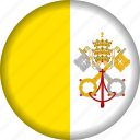 europe, flag, vatican icon