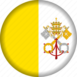 europe, flag, vatican icon