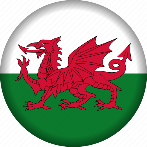 europe, flag, wales icon