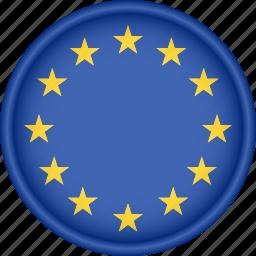 attribute, country, eu, europe, european, flag, national icon