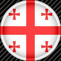 attribute, country, europe, european, flag, georgia, national icon