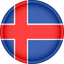 attribute, country, europe, european, flag, iceland, national