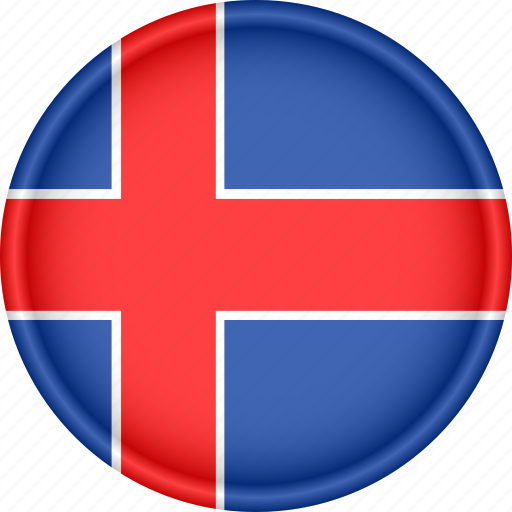 attribute, country, europe, european, flag, iceland, national icon