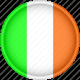 attribute, country, europe, european, flag, ireland, national icon