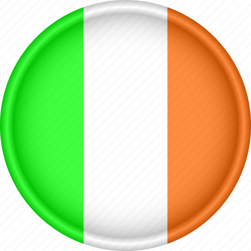 Attribute, country, europe, european, flag, ireland, national icon - Download on Iconfinder