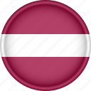 attribute, country, europe, european, flag, latvia, national