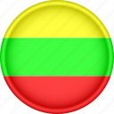 attribute, country, europe, european, flag, lithuania, national