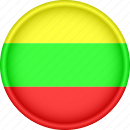 attribute, country, europe, european, flag, lithuania, national icon