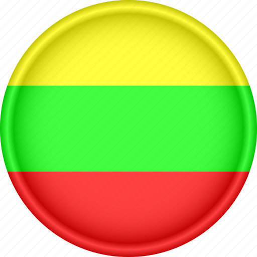 Attribute, country, europe, european, flag, lithuania, national icon - Download on Iconfinder