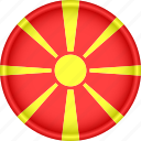 attribute, country, europe, european, flag, macedonia, national